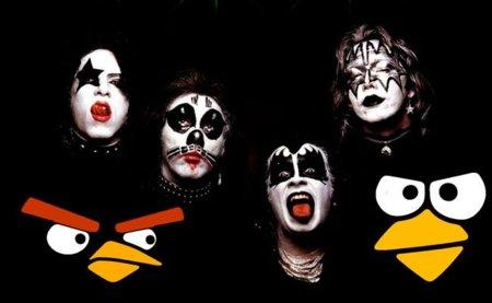 ¿Angry Birds y KISS en el mismo juego? Gene Simmons dice que es bastante posible