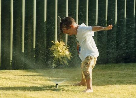 Una guerra de agua para aliviar el calor