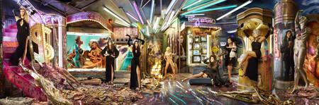 David LaChapelle y las Kardashian nos felicitan por Navidad