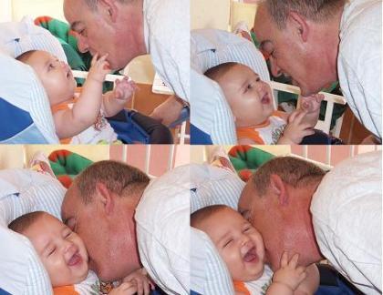 La foto de tu bebé: un abuelo es un tesoro, un nieto es vida