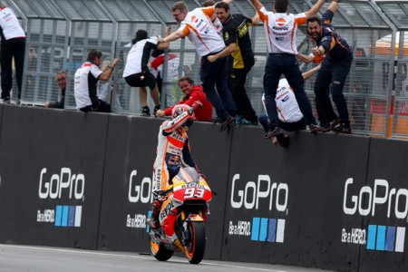 Marc Marquez Gp Alemania Motogp 2016 Repsol Honda