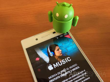 Apple Music se actualiza en Android y ahora tiene una apariencia similar a la de iOS 10