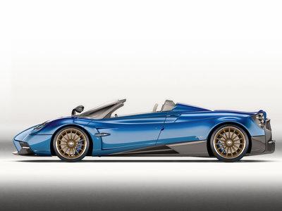 Pagani Huayra Roadster, 764 CV de descapotable a razón de 2,28 millones de euros