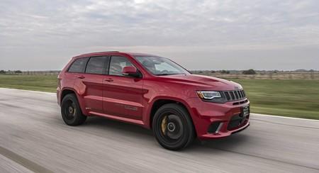 Video: El Jeep Grand Cherokee Trackhawk Hennessey HPE850 demuestra su poder en el dinamómetro