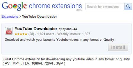 YouTube Downloader: Google acepta una extensión de Chrome que viola sus propias políticas