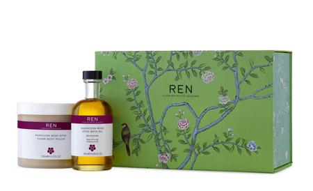 Exfoliante y aceite REN