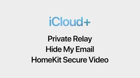 iCloud+ características