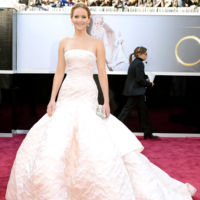 Jennifer Lawrence de Dior