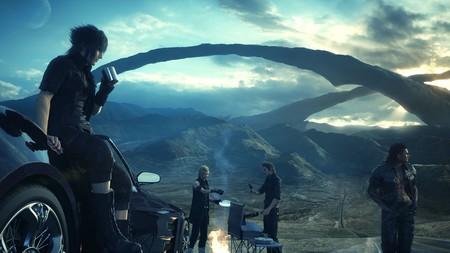 Final Fantasy Xv Noctis Gladio Ignis Prompto