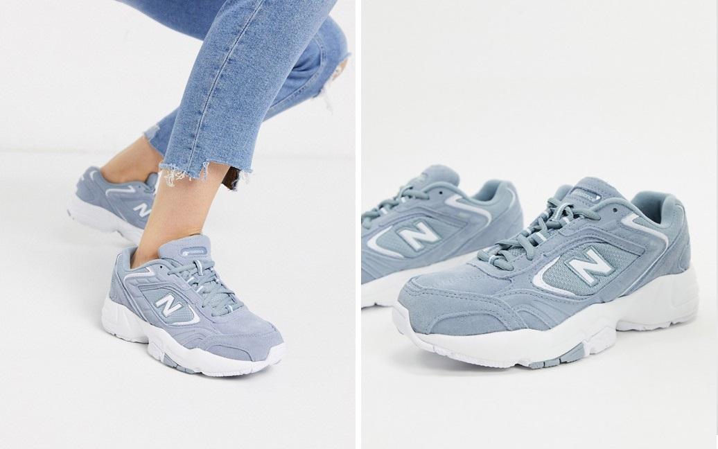 Zapatillas de deporte en gris 452 de New Balance