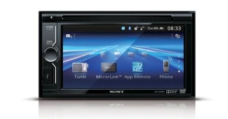 Centro multimedia coche Sony