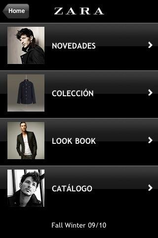 Zara lanza una aplicación para el iPhone