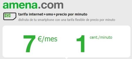 Amena sorprende con la rebaja a siete euros de su tarifa con 1 Gb de datos