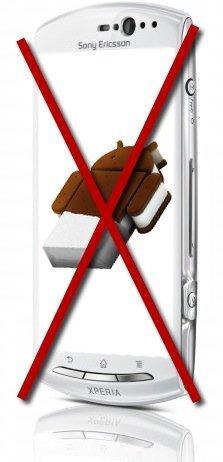 Sony Ericsson desmiente la llegada de Android Ice Cream Sandwich a los recientes Xperia