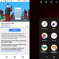 Sony Xperia XZ2 y XZ2 Compact empiezan a recibir la actualización a Android Pie