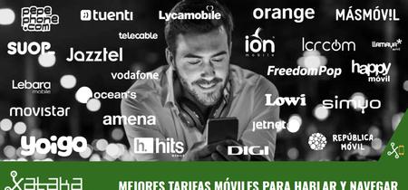 Las mejores tarifas móviles en función de su cobertura