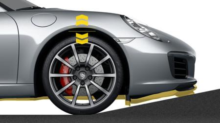 Porsche 911: así funciona la elevación del eje delantero