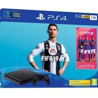 Pack PlayStation 4 de 1TB, con el juego FIFA 19, por 267 euros con este cupón de descuento