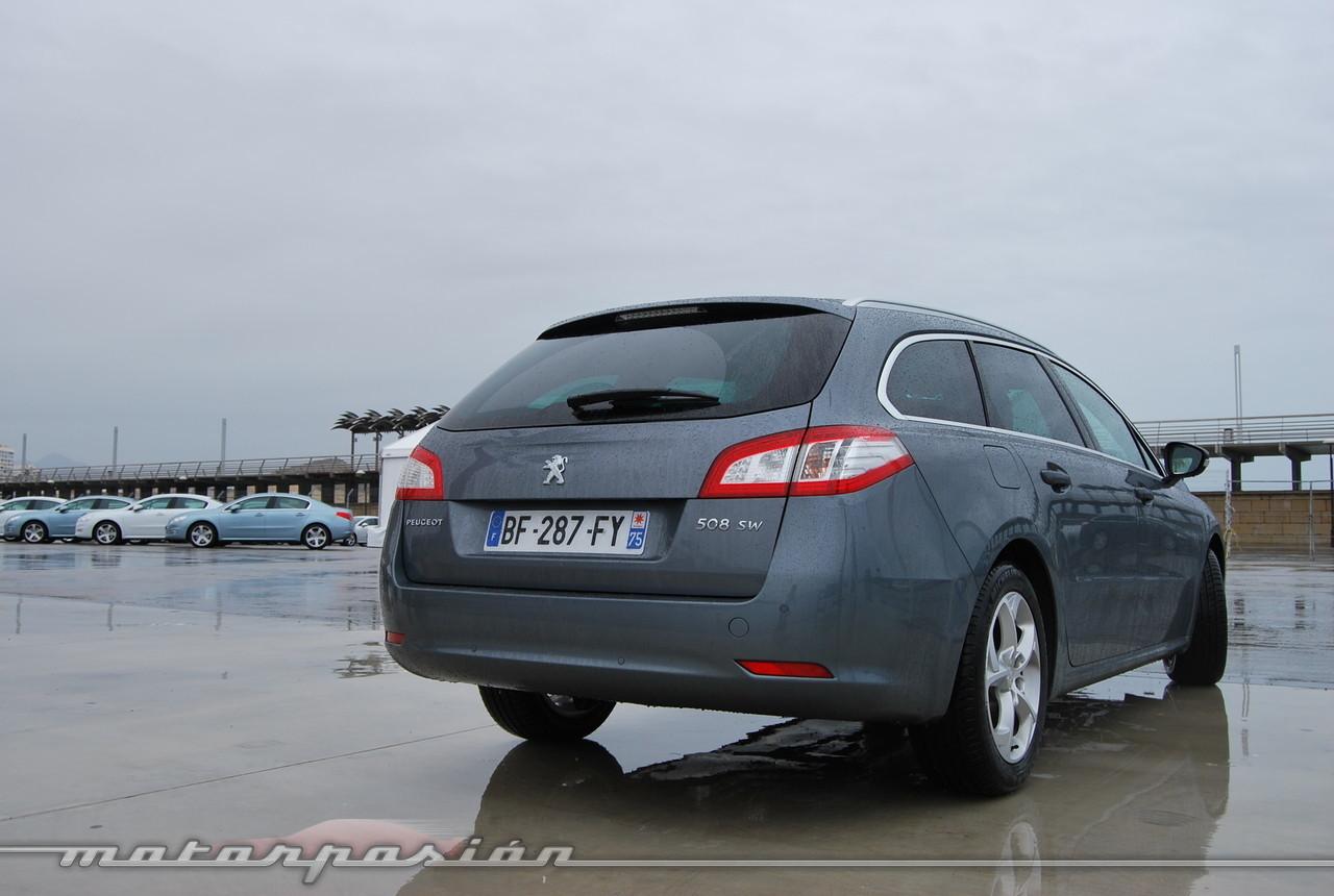 Foto de Peugeot 508 y 508 SW (presentación) (49/118)