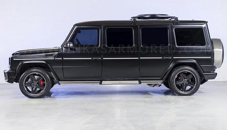 Inkas Mercedes-Benz G 63 AMG, alargado y blindado