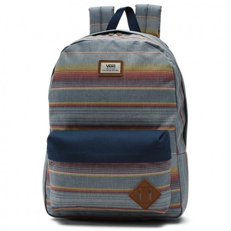 Vans Old Skool Ii Backpack Blue Mirage Rockaway Stripe