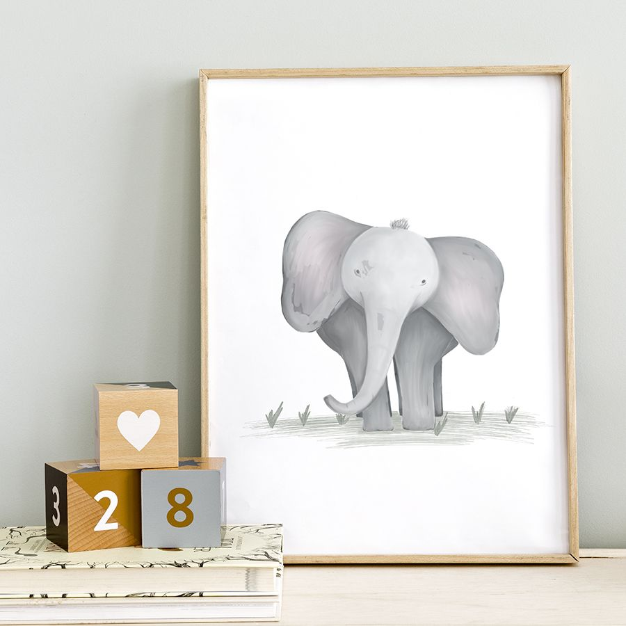 Lámina de elefante