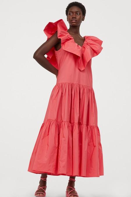 Vestidos Oversize Con Vuelo
