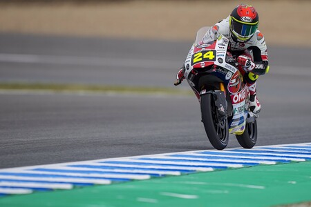 Tatsuki Suzuki evita la primera pole de Jeremy Alcoba en Moto3 y Pedro Acosta superó la Q1 pero saldrá décimo