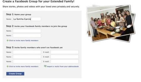 Crea un grupo privado para tu familia en Facebook