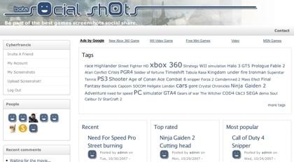 Social Shots, capturando imágenes de juegos