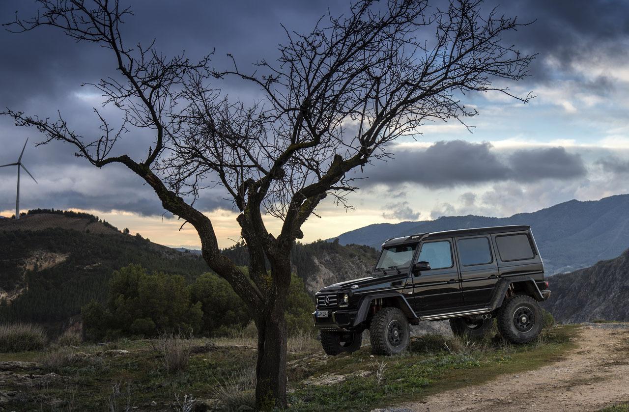 Foto de Mercedes-Benz G 500 4x4², toma de contacto (18/127)