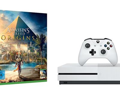 Oferta Prime: consola Xbox One S de 500GB + Assassin's Creed Origins por 199,95 euros