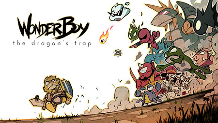 Wonder Boy: The Dragon's Trap sale a la venta en abril y prometen una sorpresa para finales de mes