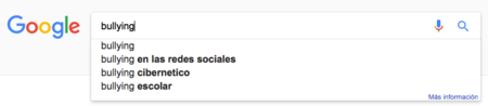 Bullying en google
