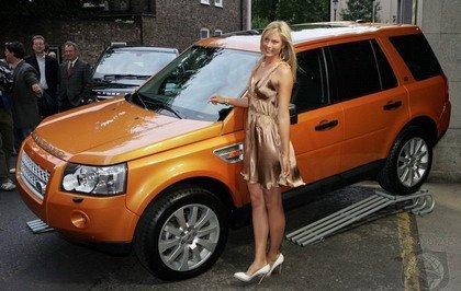 Maria Sharapova, imagen del Land Rover Freelander 2
