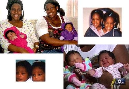 Dos hermanas gemelas dan a luz a sus dos hijas con dos horas de diferencia