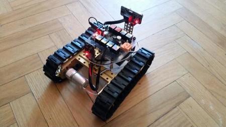 Nuestro robot en funcionamiento