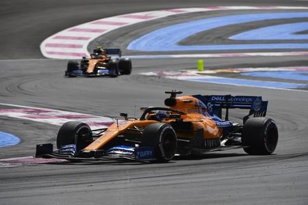 Sainz Norris Francia F1 2019 2