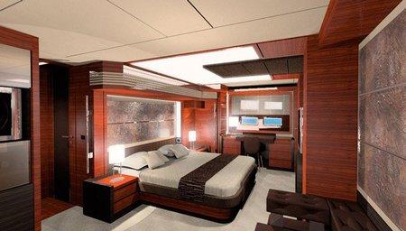 El yate más caro del mundo - dormitorio