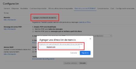 Reenvio Automatico Correos Cuentas Gmail