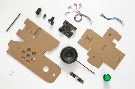 Google Aiy Voice Kit The Pi Hut. Componentes y partes incluidas