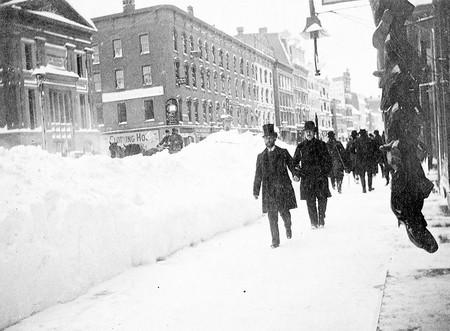 Gran Ventisca 11 Marzo 1888 Estados Unidos 8