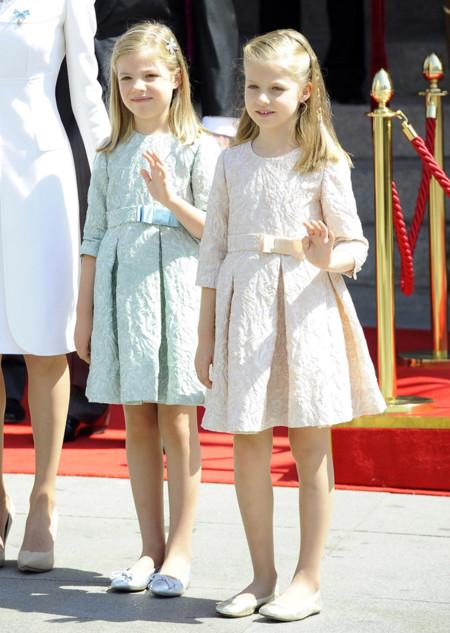Hijas Felipe VI Letizia Ortiz rey reina