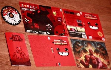 'Super Meat Boy'. Su edición física ya está disponible