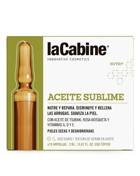 Aceite Sublime Ampollas La Cabine