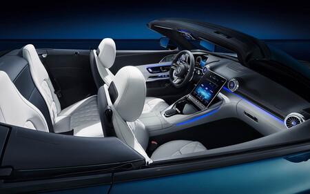 Interior Mercedes AMG SL 2022