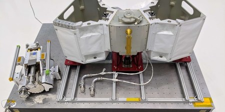 Este taller para robots va a ser instalado en la parte exterior de la Estación Espacial Internacional