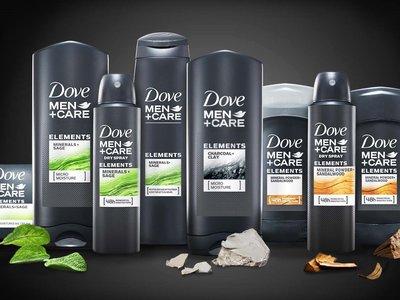 Renueva tu piel con la línea Elements de Dove Men + Care inspirada en la naturaleza