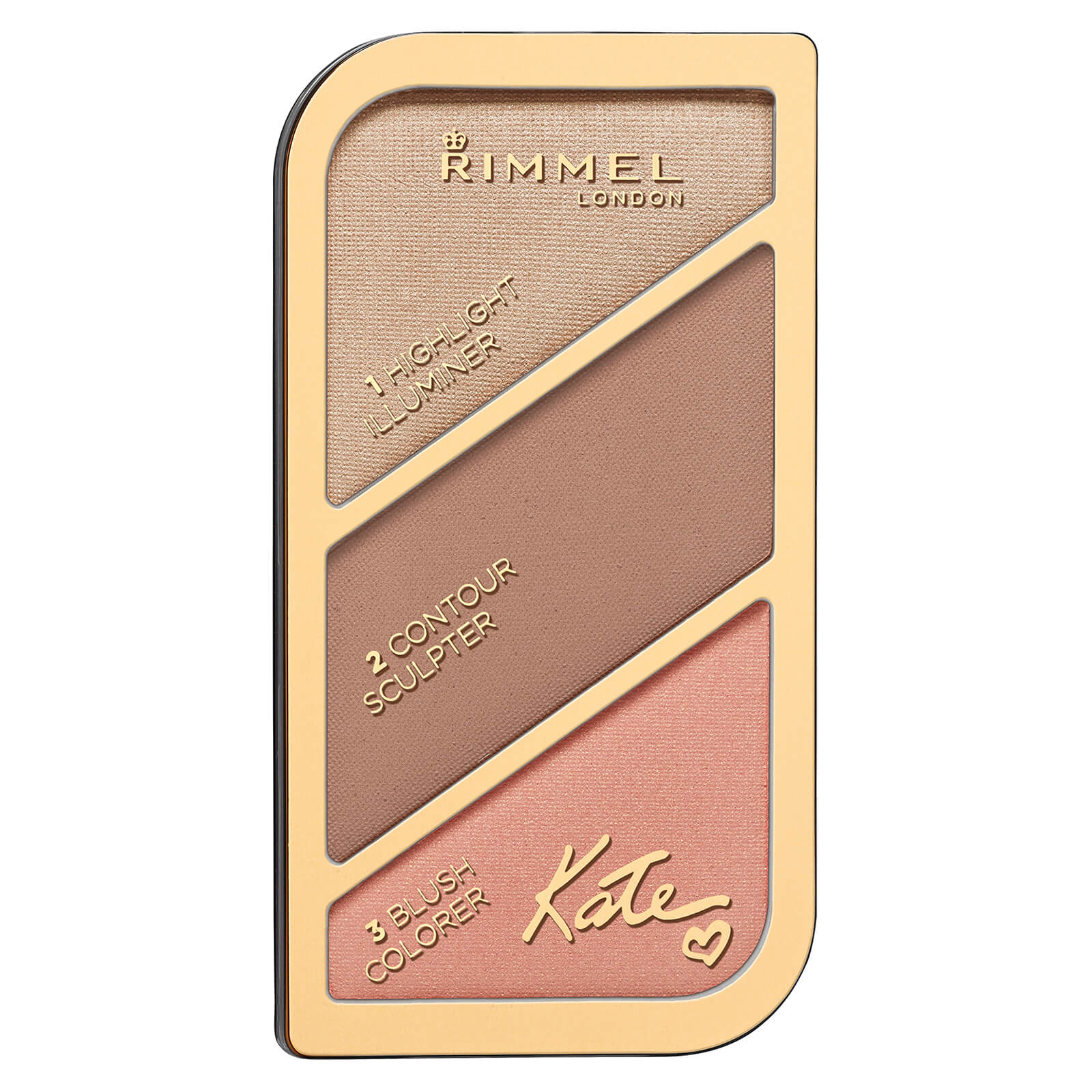 Paleta para el rostro de Rimmel x Kate Moss