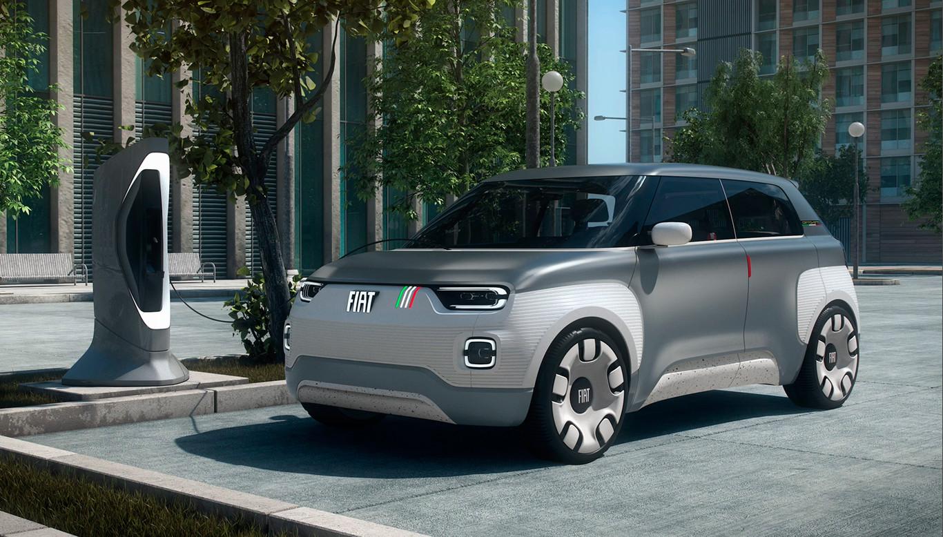 Fiat Concept Centoventi  el coche eléctrico a la italiana es urbano y  completamente modular ac908bd4738